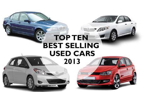 top ten  selling  cars