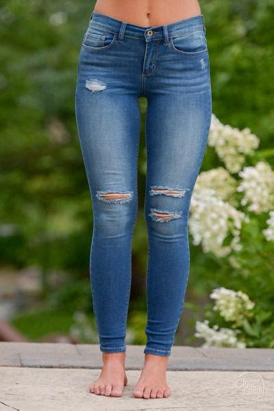 200+ Cute Ripped Jeans Outfits For Winter 2017 | Skinny jeans Skinny and Winter