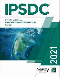 2021 International Private Sewage Disposal Code Softcover