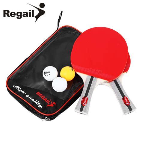 best table tennis racket aliexpress com buy regail 8020 table tennis racket heavy