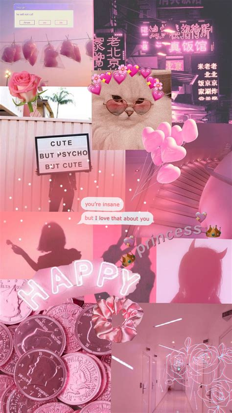 girly pink aesthetic wallpapers