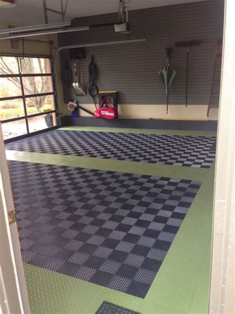 Racedeck Garage Flooring Tiles by Racedeck Garage Floors A Concord Carpenter