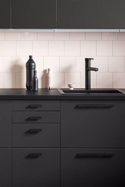 black kitchen cabinets ikea best 25 black ikea kitchen ideas on ikea