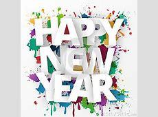 Happy New Year Celebration 2016 Stock Vector Image