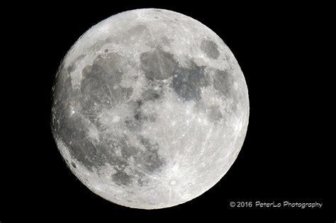Full Moon In Toronto, Canada