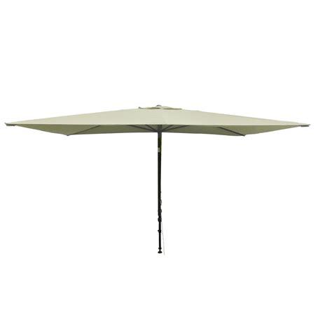 parasol balcon l 233 o ecru rectangulaire l 300 x l 150 cm leroy merlin