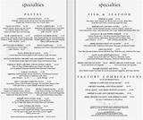 Images of Cheesecakes Factory Menu