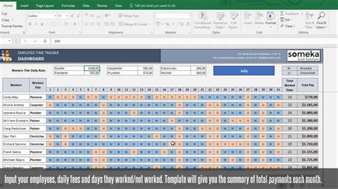 Trial Tracking Excel Template by Payroll Template Excel Timesheet Free Download