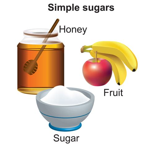 figure 1 2 exles of sources for simple sugars include