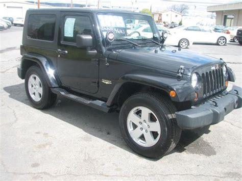 jeep sahara black 2 door sell used 2007 jeep wrangler sahara sport utility 2 door 3