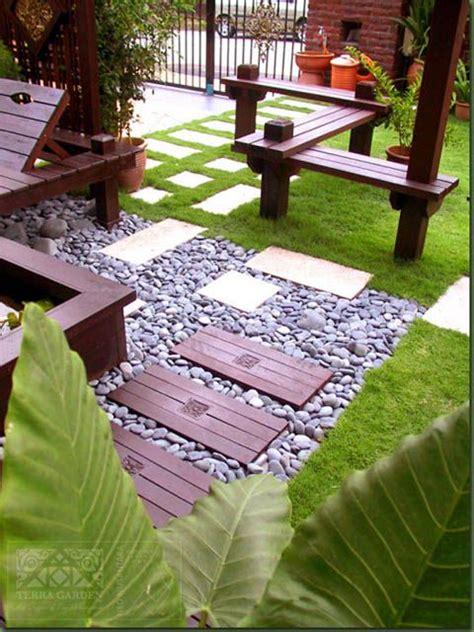halaman rumah minimalis interior pinterest gardens