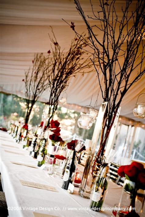 twig trees for centerpieces brockville wedding planner 187 blog archive 187 ideas for non floral centerpieces to help meet small