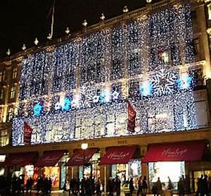 Christmas lights in London 2007 Regent Street Oxford