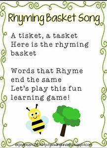 """Rhyming Basket"" Song & Lakeshore Learning Vowel Teaching ..."