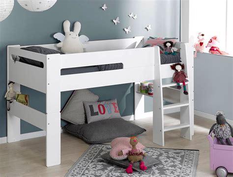chambre lit mezzanine avec le lit mezzanine enfant blanc vous pouvez