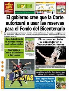 Peri U00f3dico Diario Norte  Argentina   Peri U00f3dicos De Argentina  Edici U00f3n De Domingo  7 De Febrero De