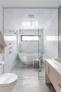 Cool 50+ Small Bathroom Design With Separate Tub And