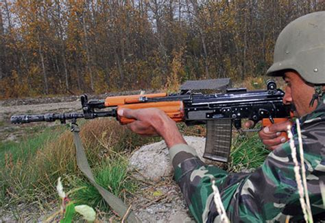 OFB INSAS (INdian Small Arms System) Assault Rifle / Light ...