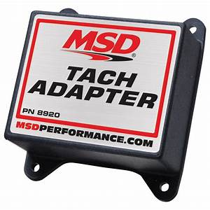 Msd Tachometer  Fuel Injection Pickup 8920