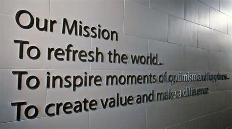 mission vision values coca cola canada