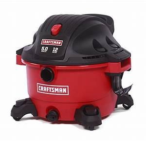 Craftsman 17765 12 Gallon 5 0 Peak Hp Wet Dry Shop Vacuum