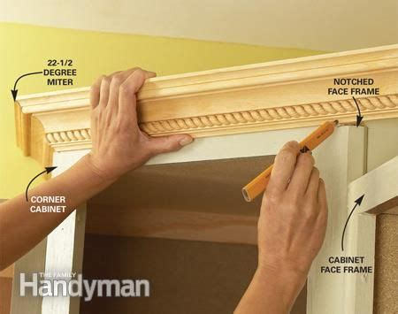 installing crown molding on kitchen cabinets cabinet facelift design kitchen designs and crowns 8992