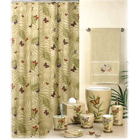 bathroom shower curtains and matching accessories kmart