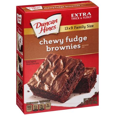 chewy fudge brownie mix duncan hines