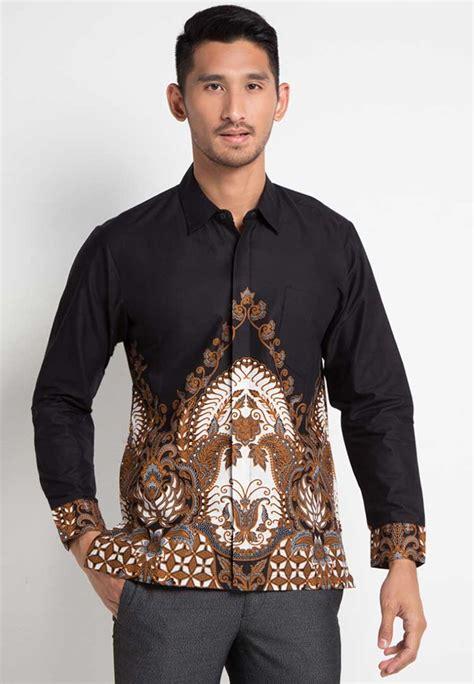 Baju Modifikasi Batik by 30 Model Baju Batik Pria Gaul Kombinasi Polos Modern