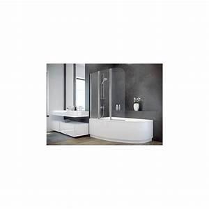 Pare Baignoire 60 Cm : baignoire mary 160 170 cm avec pare baignoire baignoire ~ Dailycaller-alerts.com Idées de Décoration