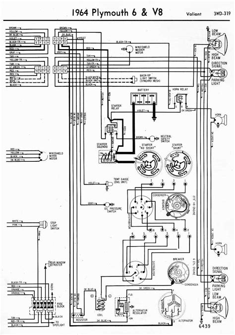 Wiring Diagrams Plymouth Valiant Part