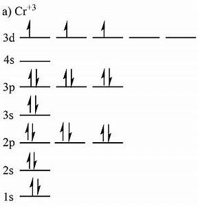 1  Write Orbital Diagrams For Each Of These Ions   A  V5
