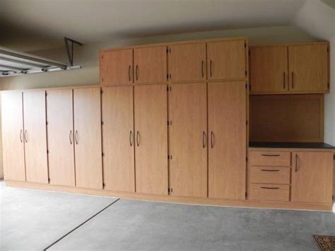 garage storage plans  garage garage cupboards