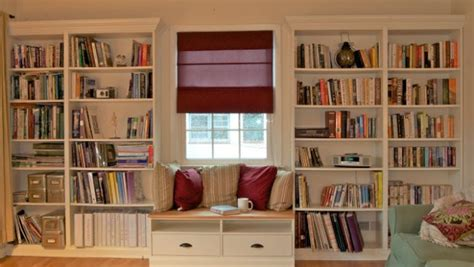 Built In Bookshelves With Windowseat For Under $350