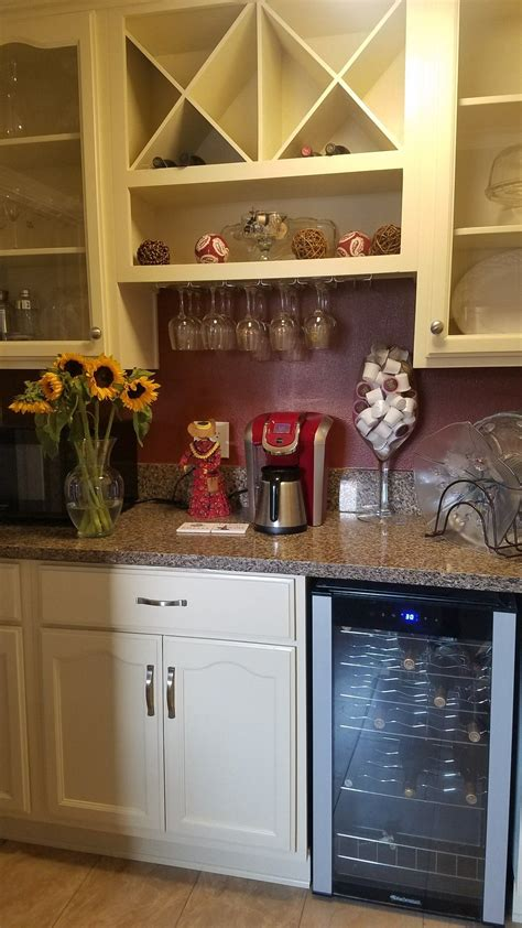 Open for #takeout & #delivery ! Wine and coffee.   Wine and coffee bar, Home decor, Decor