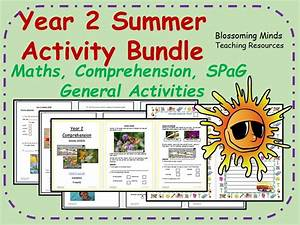 Year 2 end of term summer bundle - maths, comprehension ...
