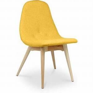 Chaise Scandinave Jaune : chaise scandinave jaune dans chaise de salle manger achetez au meilleur prix avec webmarchand ~ Teatrodelosmanantiales.com Idées de Décoration