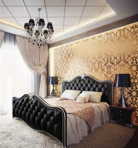 chambre a coucher style contemporain la chambre style baroque nos propositions en photos