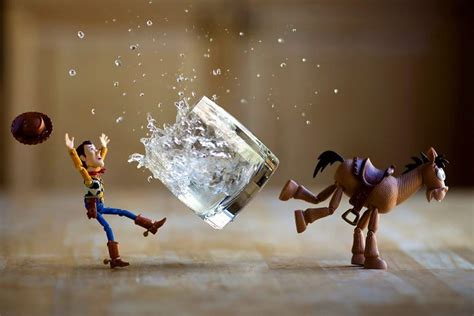 photograph toy stories  creating special effects