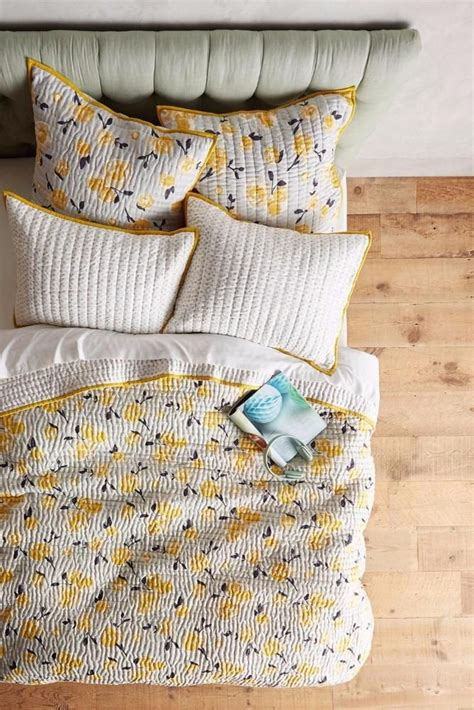 Yellow Quilts And Coverlets by New Anthropologie Dinora Coverlet Quilt Yellow