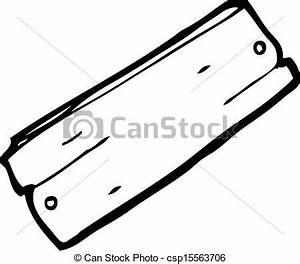 Planche à Dessin En Bois : clipart vecteur de dessin anim planche de bois ~ Zukunftsfamilie.com Idées de Décoration