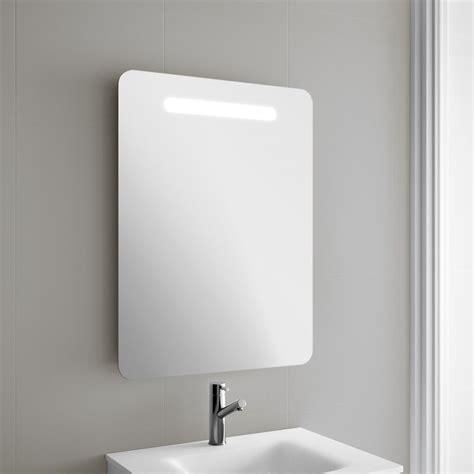miroir salle de bain 60x80 cm avec 233 clairage led oslo