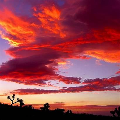 Sunrise Colors Air Sunset Desert Sky Ipad
