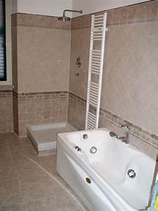 Foto: Bagno con Vasca e Doccia di Cpo Lavori E Restauri Edili #75679 Habitissimo
