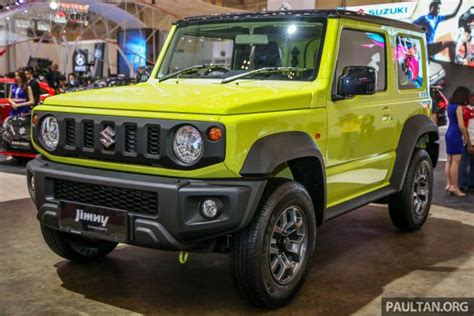 Giias 2018 New Suzuki Jimny To Be Indonesianmade