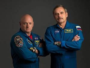 NASA Astronaut Scott Kelly and Russian Cosmonaut Mikhail ...