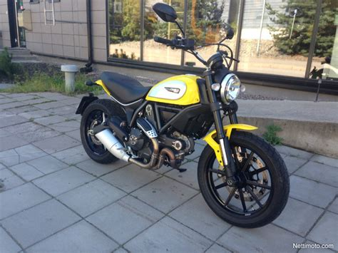 Ducati Scrambler Icon Modification ducati scrambler icon yellow 800 cm 179 2016 helsinki