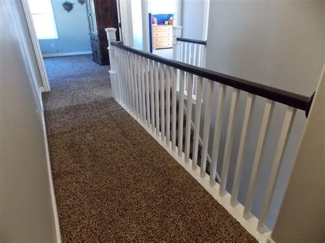 Stair Banister Renovation Using Existing