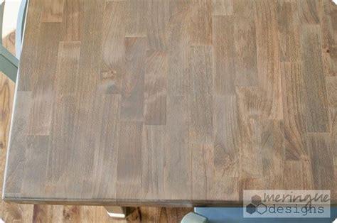 weathered oak  minwax restaining  kitchen table