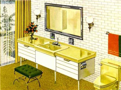 Mid Century Modern Bathroom Colors by Six Mid Century Bathrooms Vintage 1962 Bathroom Designs